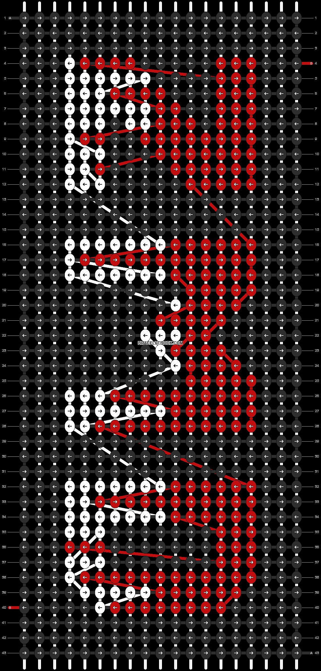 Alpha pattern #3756 pattern