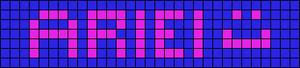 Alpha pattern #3757