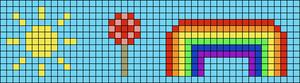Alpha pattern #3760