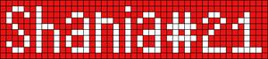 Alpha pattern #3768