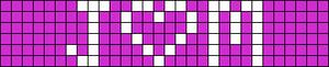 Alpha pattern #3769