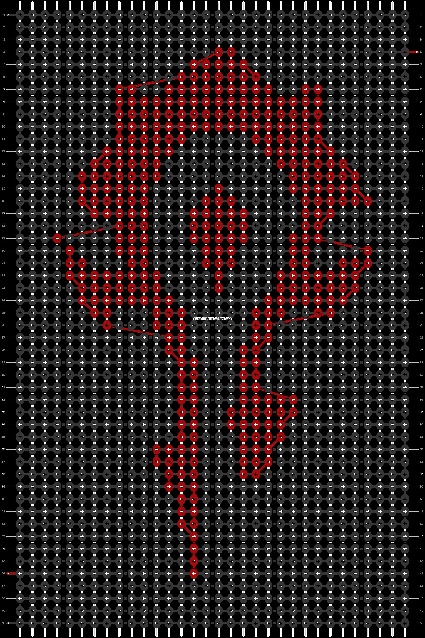 Alpha pattern #3771 pattern