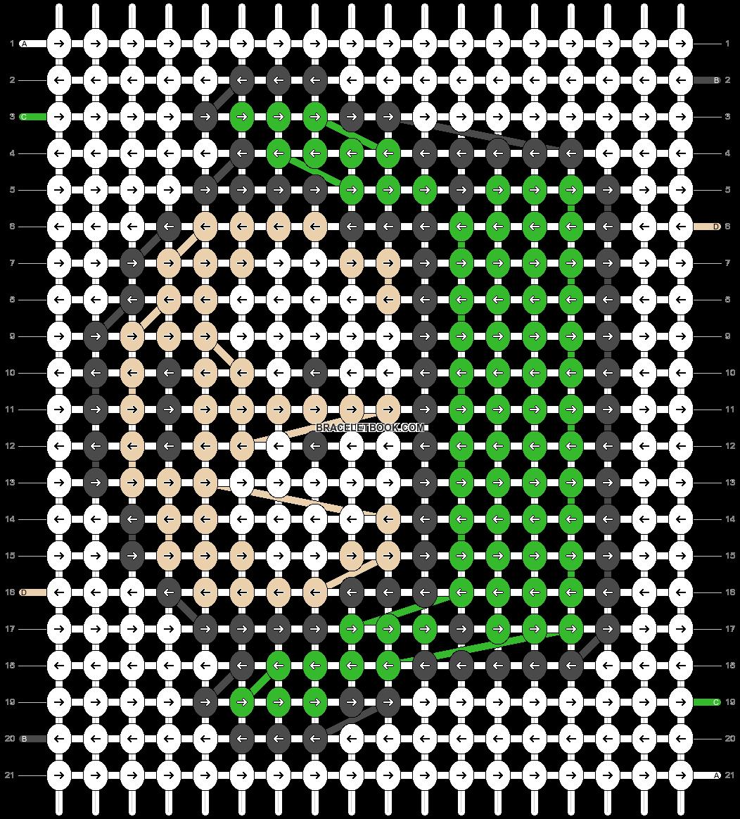 Alpha pattern #3772 pattern