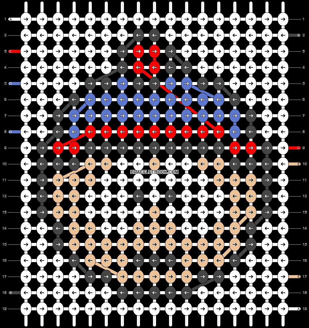 Alpha pattern #3773 pattern