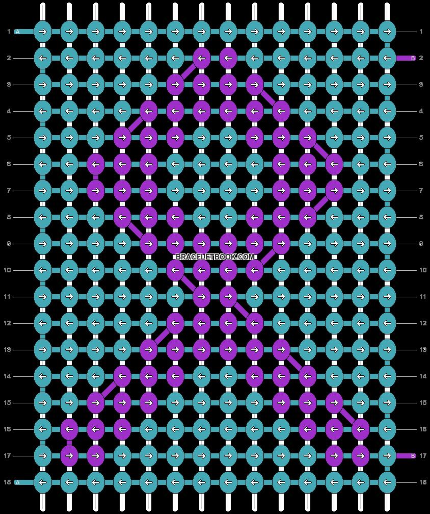 Alpha pattern #3776 pattern
