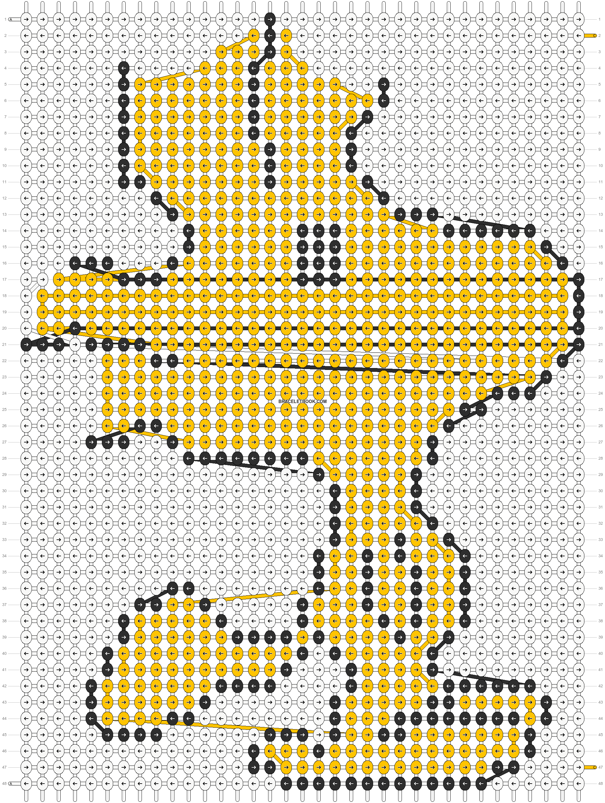 Alpha pattern #3780 pattern