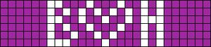 Alpha pattern #3785