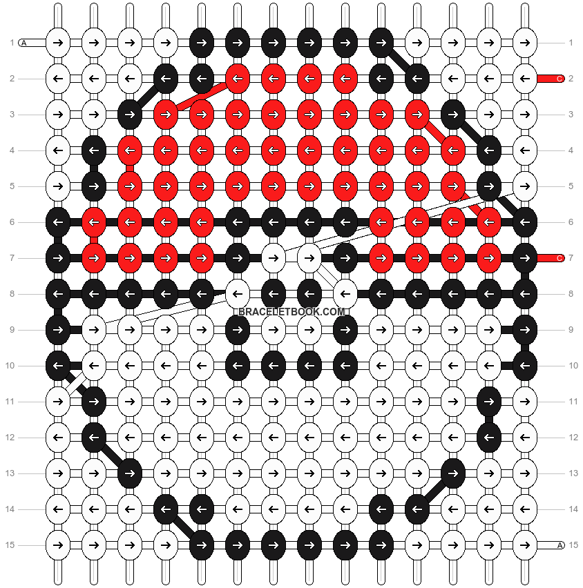 Alpha pattern #3788 pattern