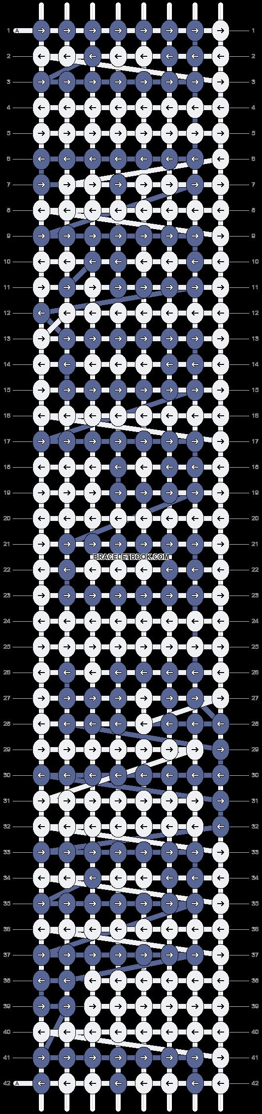 Alpha pattern #3793 pattern