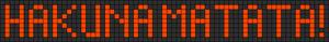 Alpha Friendship Bracelet Pattern #3807