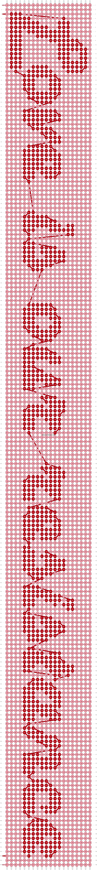Alpha pattern #3812 pattern