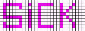 Alpha pattern #3818
