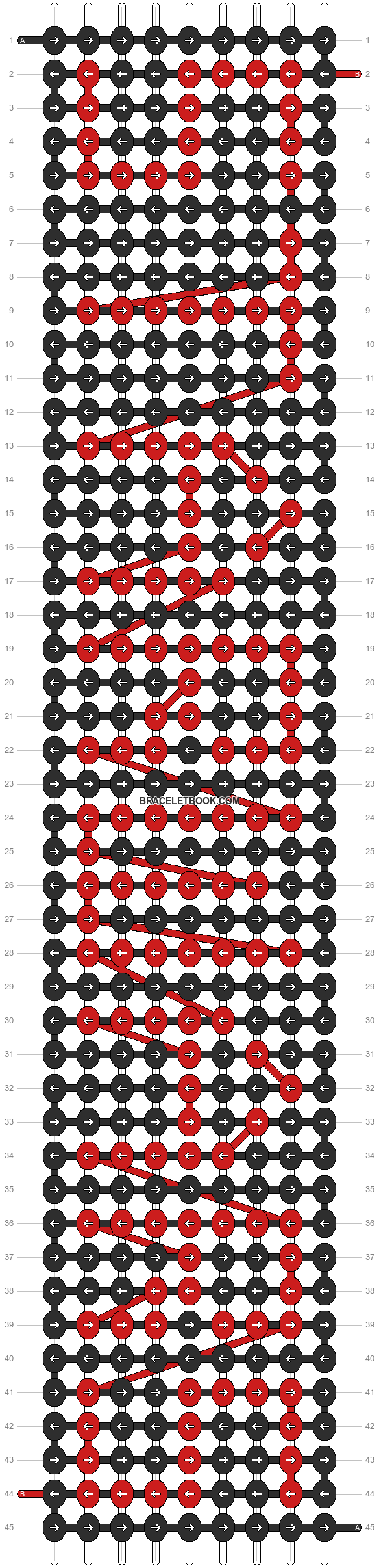 Alpha pattern #3820 pattern