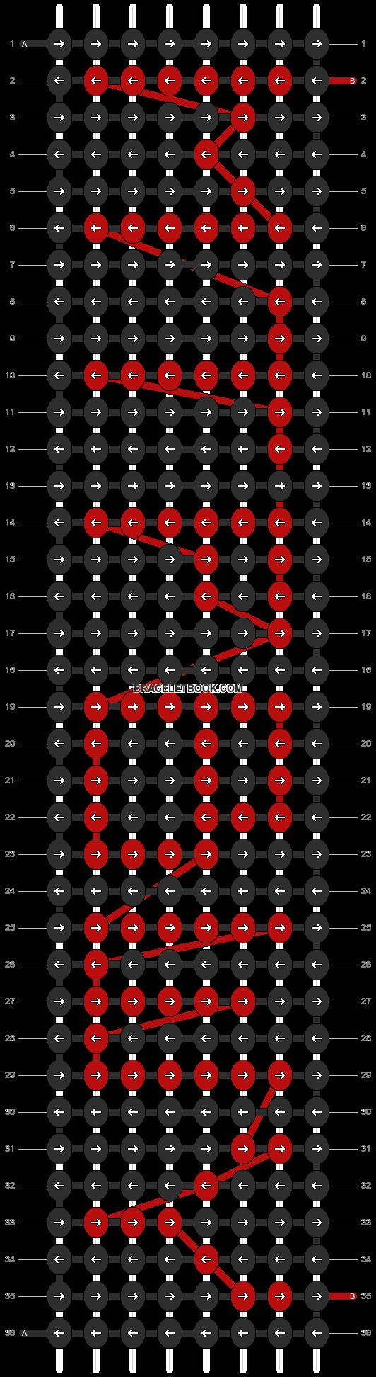 Alpha pattern #3821 pattern