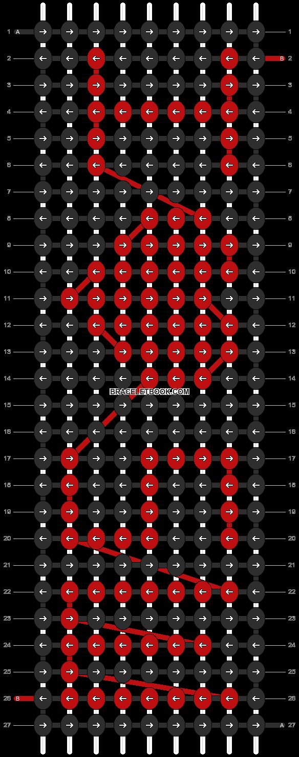 Alpha pattern #3823 pattern