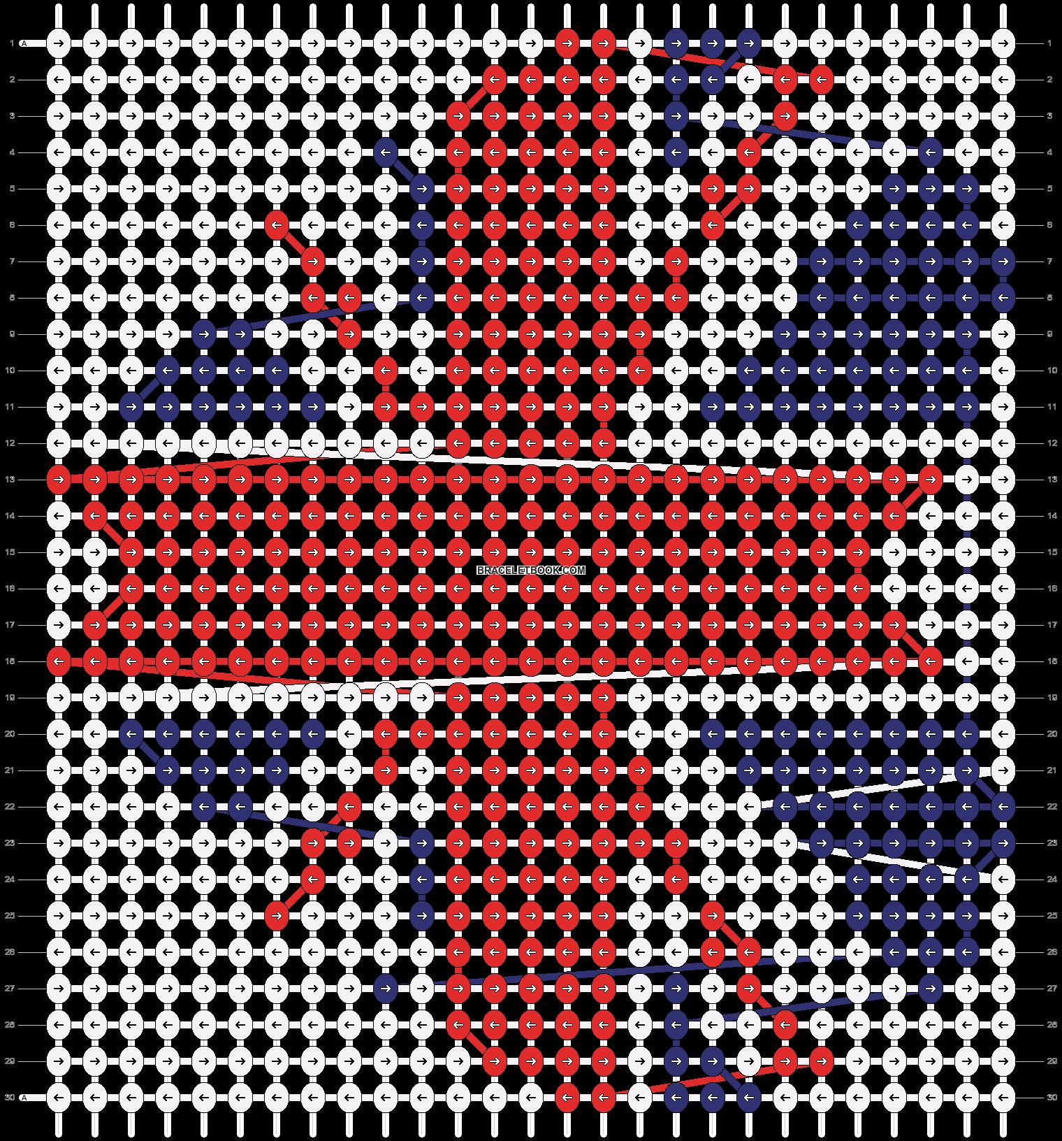Alpha pattern #3827 pattern