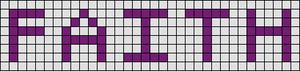 Alpha pattern #3832