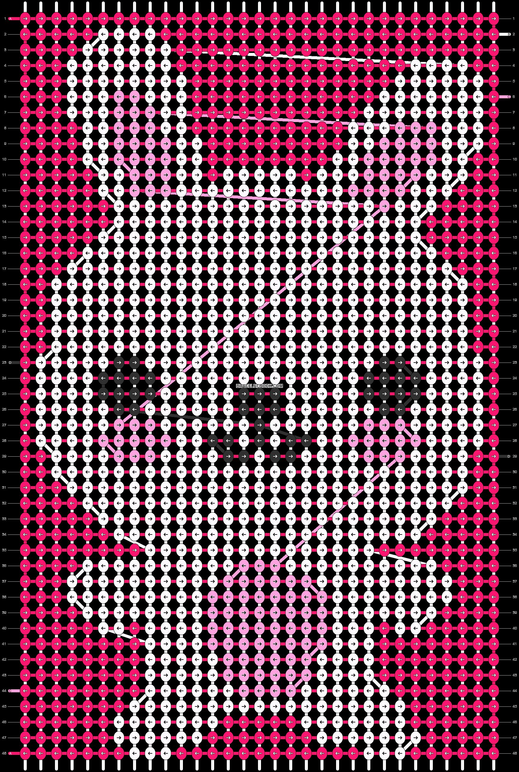 Alpha pattern #3835 pattern