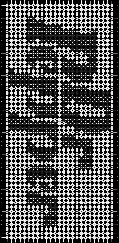 Alpha pattern #3839 pattern