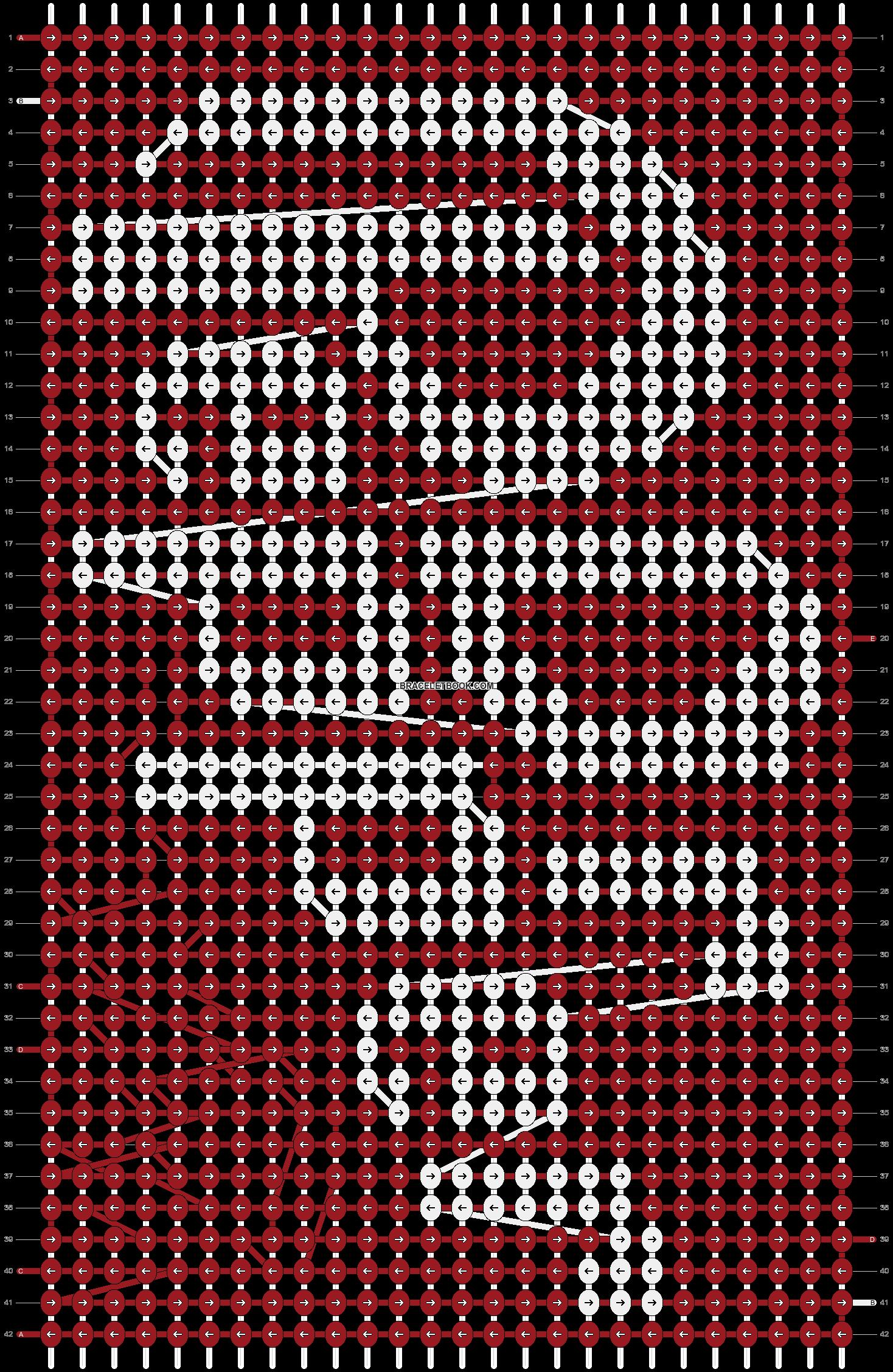 Alpha pattern #3840 pattern