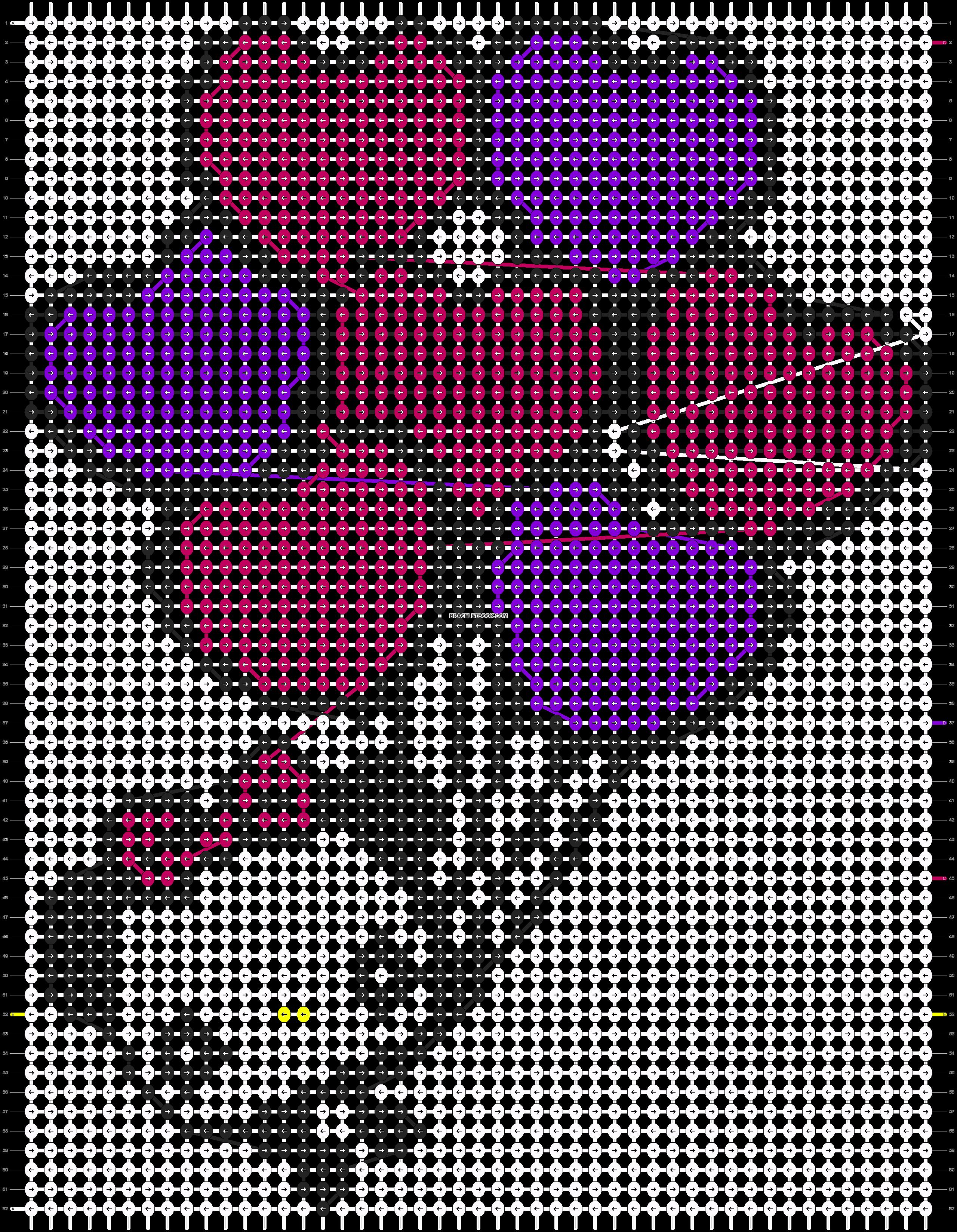 Alpha pattern #3847 pattern