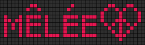 Alpha pattern #3854
