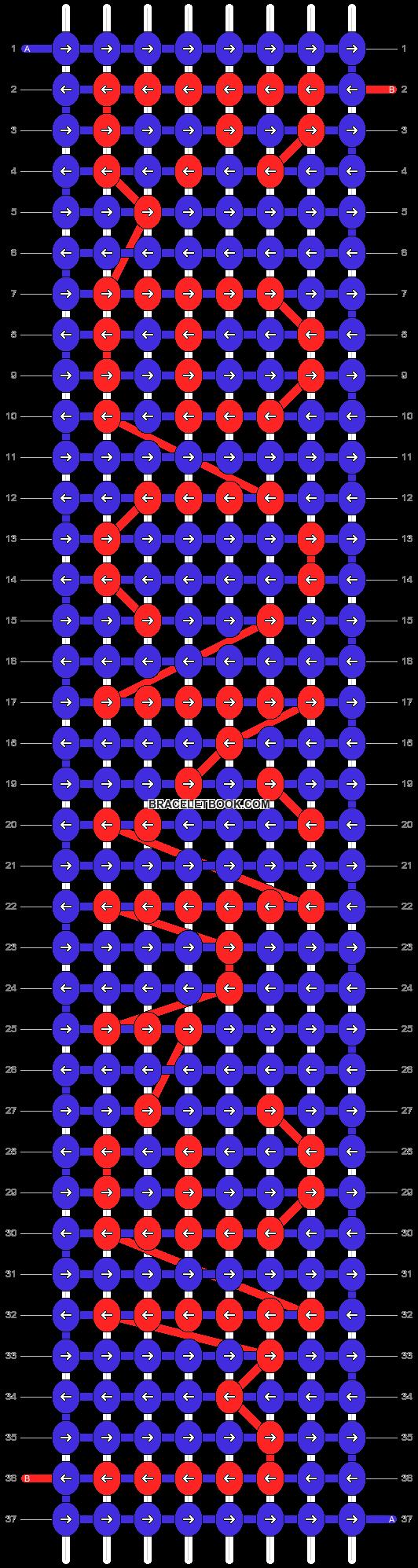 Alpha pattern #3856 pattern