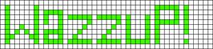 Alpha pattern #3858