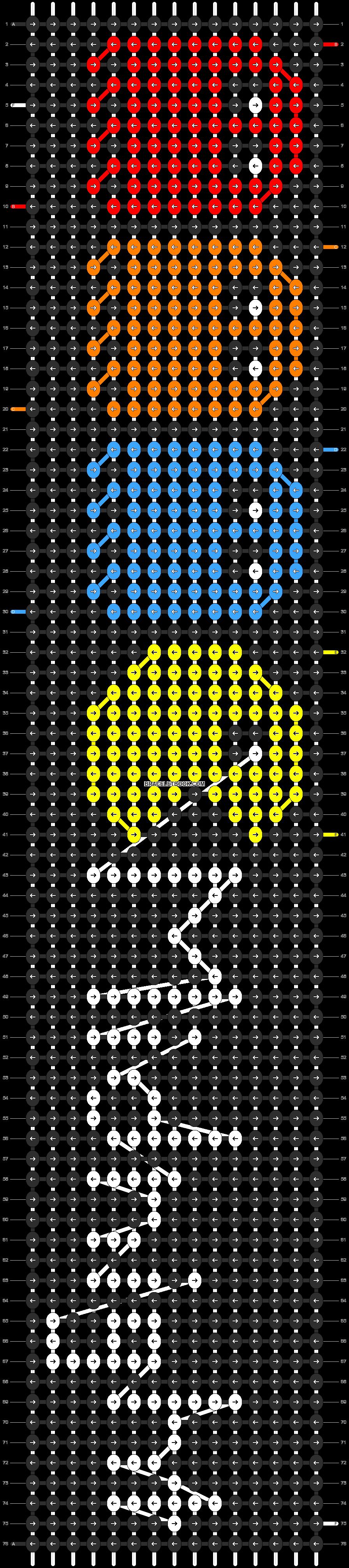 Alpha pattern #3877 pattern