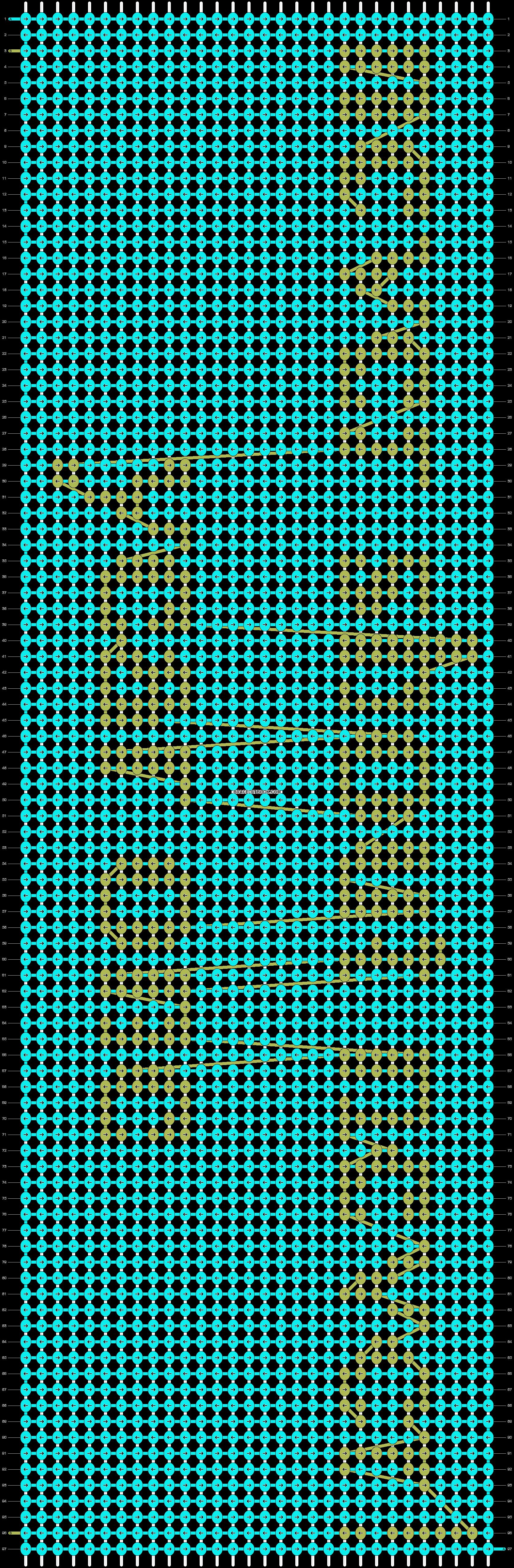 Alpha pattern #3880 pattern