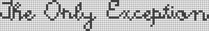 Alpha pattern #3888