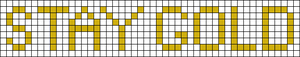 Alpha pattern #3893