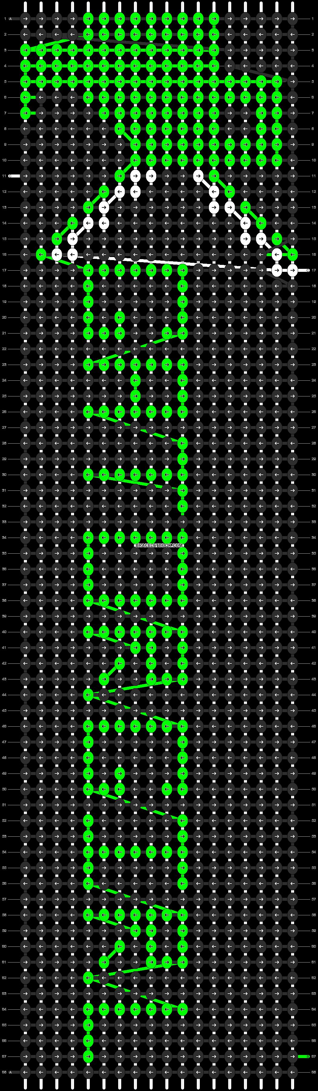 Alpha pattern #3897 pattern