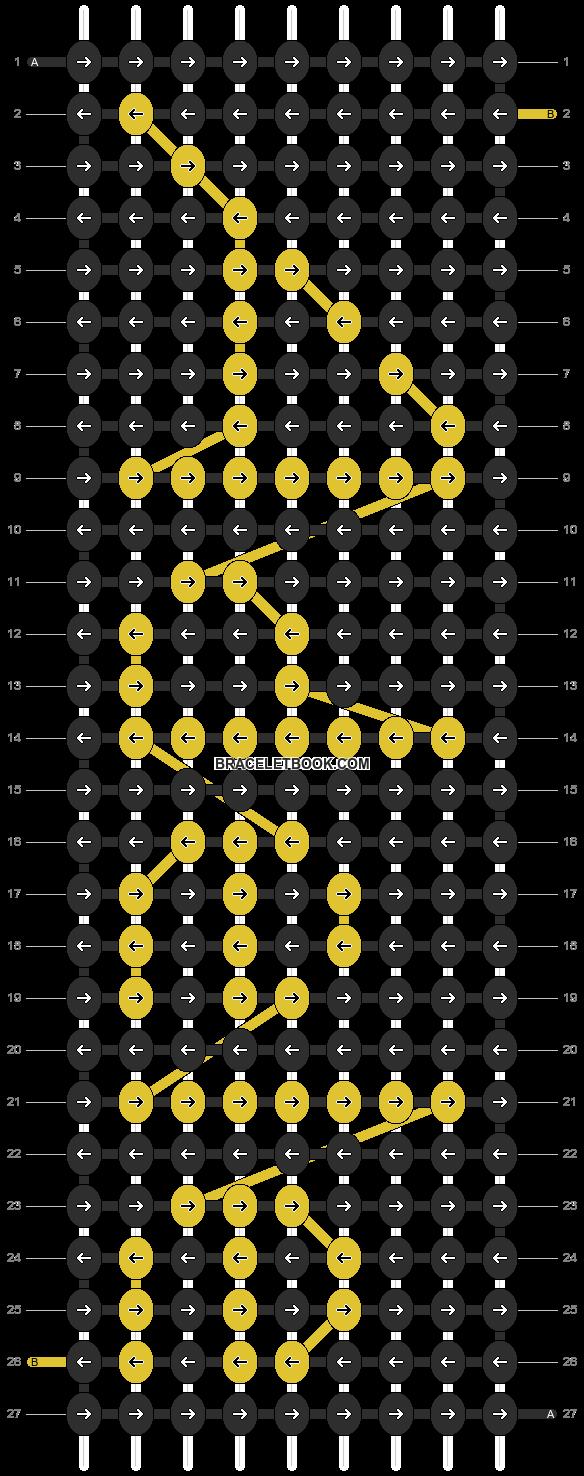Alpha pattern #3902 pattern