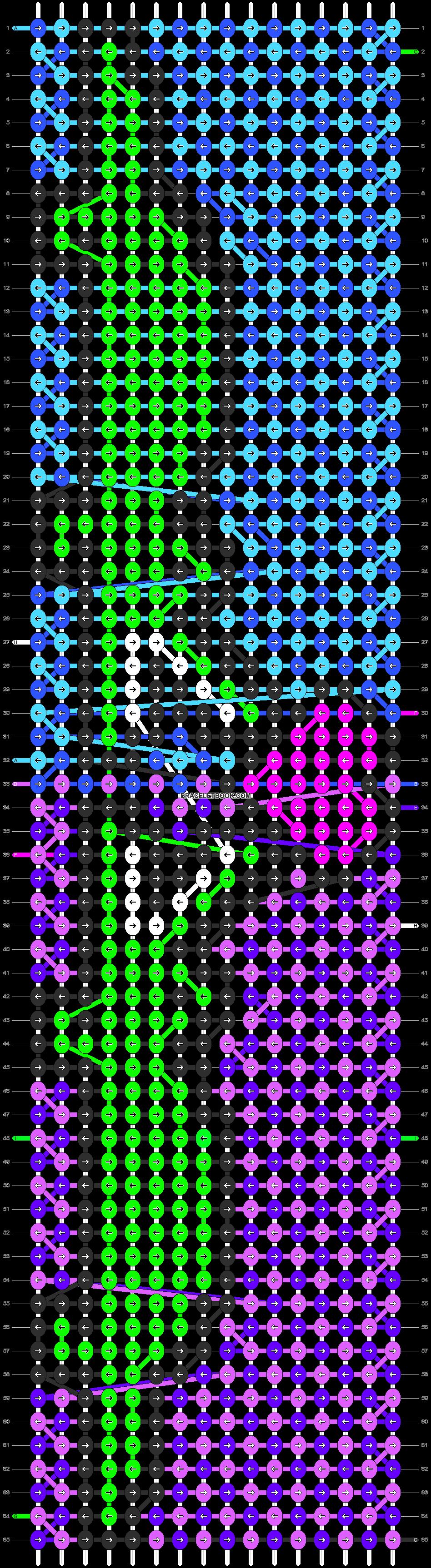 Alpha pattern #3909 pattern