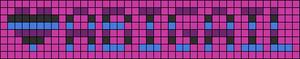 Alpha pattern #3913