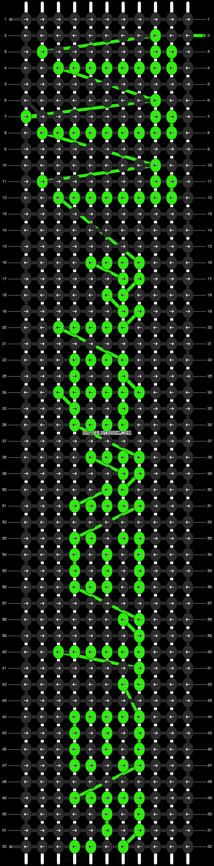 Alpha pattern #3916 pattern