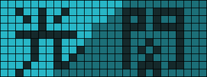 Alpha pattern #3926