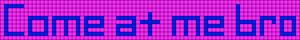 Alpha pattern #3927