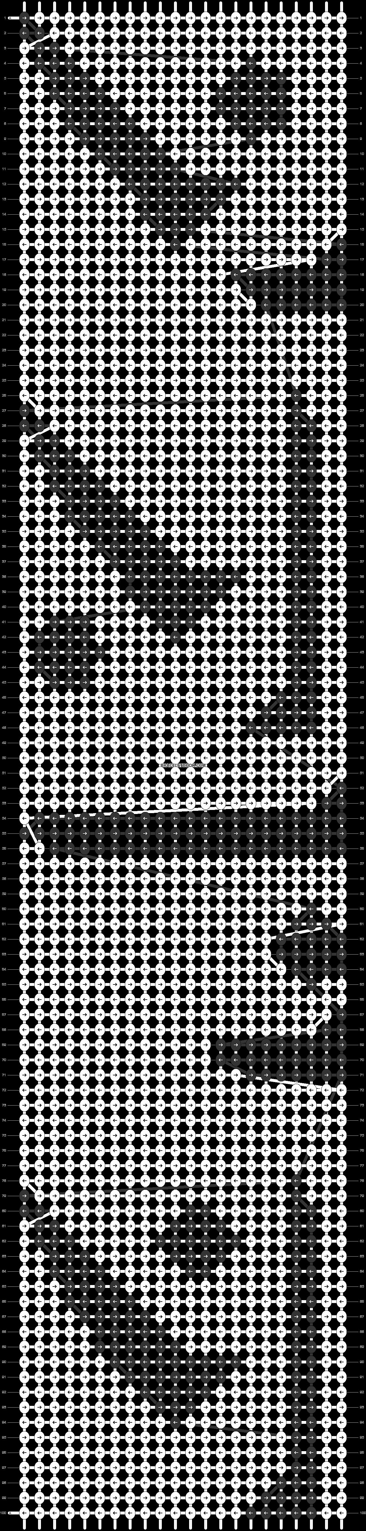 Alpha pattern #3930 pattern