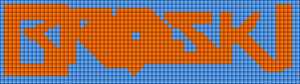 Alpha pattern #3932