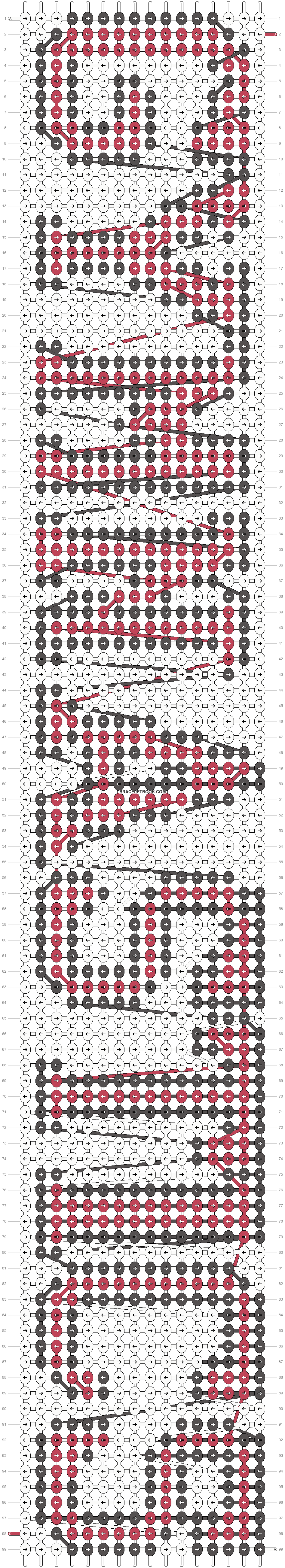 Alpha pattern #3938 pattern
