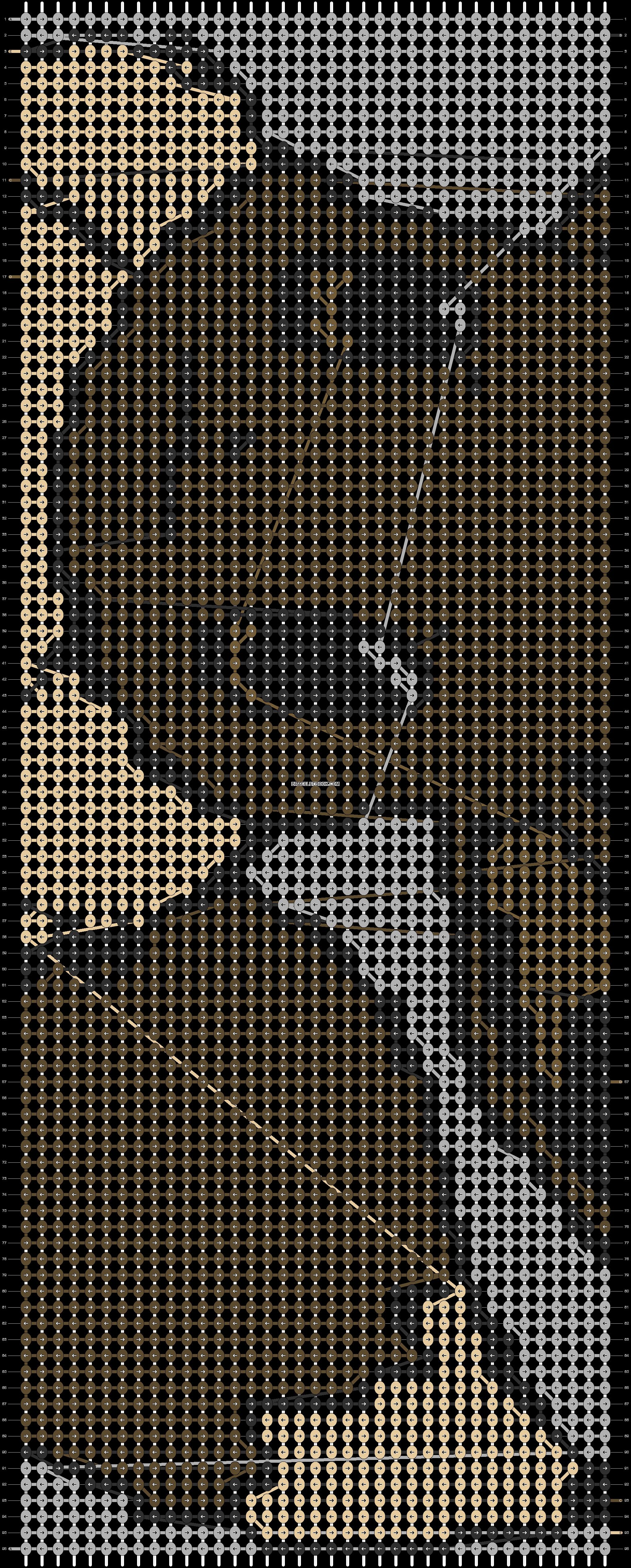Alpha pattern #3962 pattern