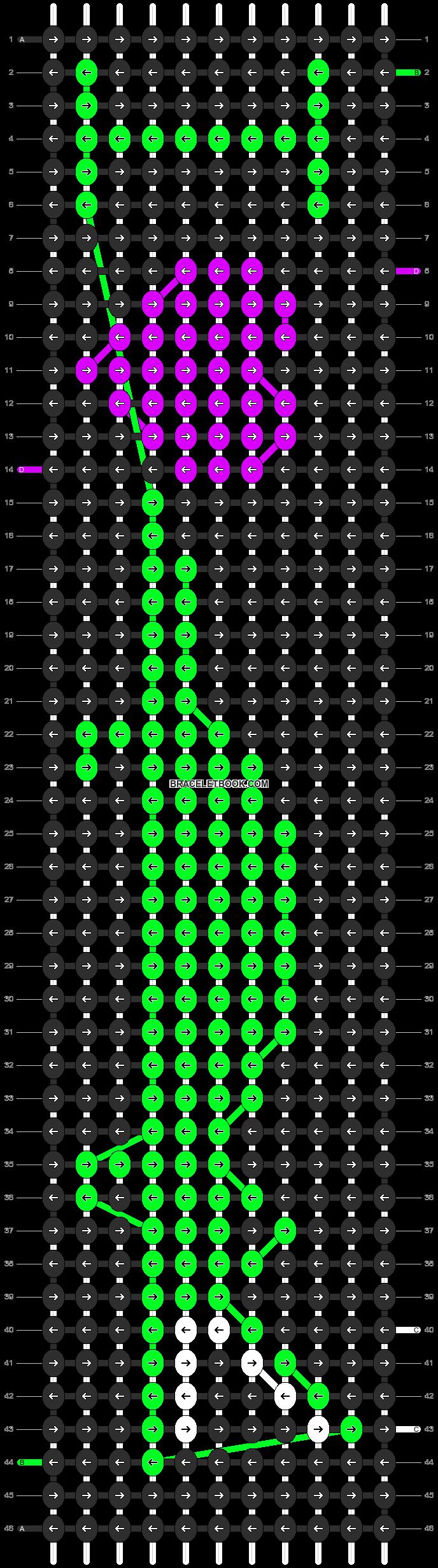 Alpha pattern #3963 pattern