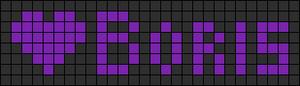 Alpha pattern #3970