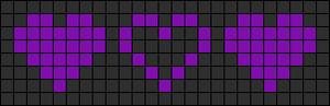 Alpha Friendship Bracelet Pattern #3976