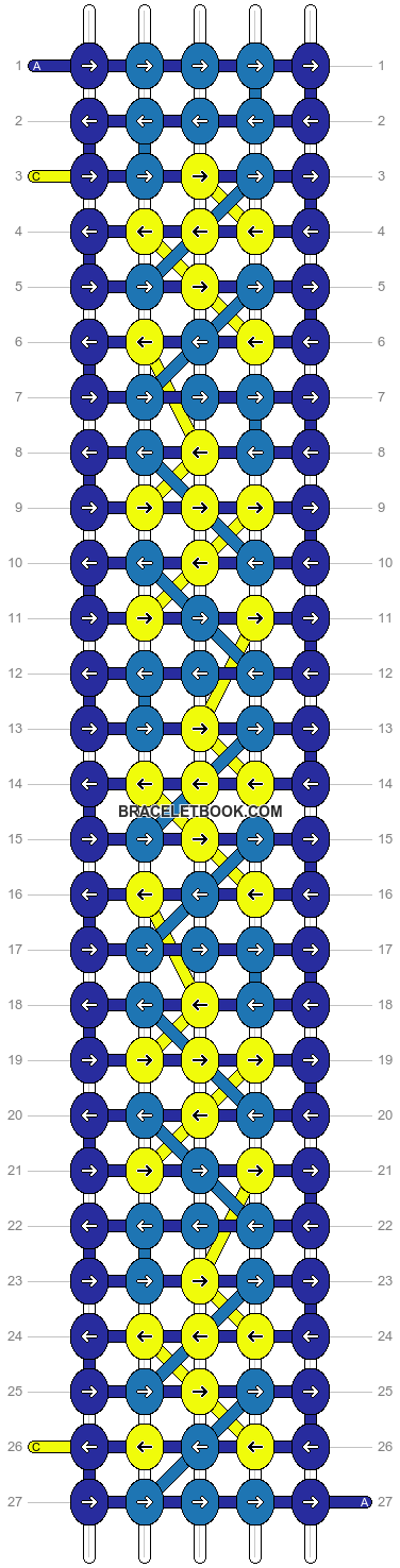 Alpha pattern #3984 pattern