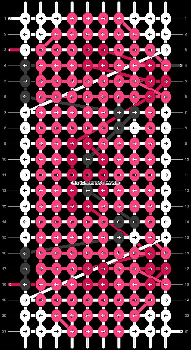 Alpha pattern #3991 pattern