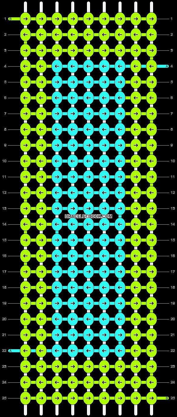 Alpha pattern #3994 pattern