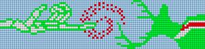 Alpha pattern #4009